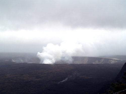The Halemaʻumaʻu crater on the Kilauea Volcano - Curiosity Trek - Hawaii