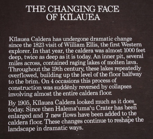 The Changing Face of Kilauea - Curiosity Trek - Hawaii